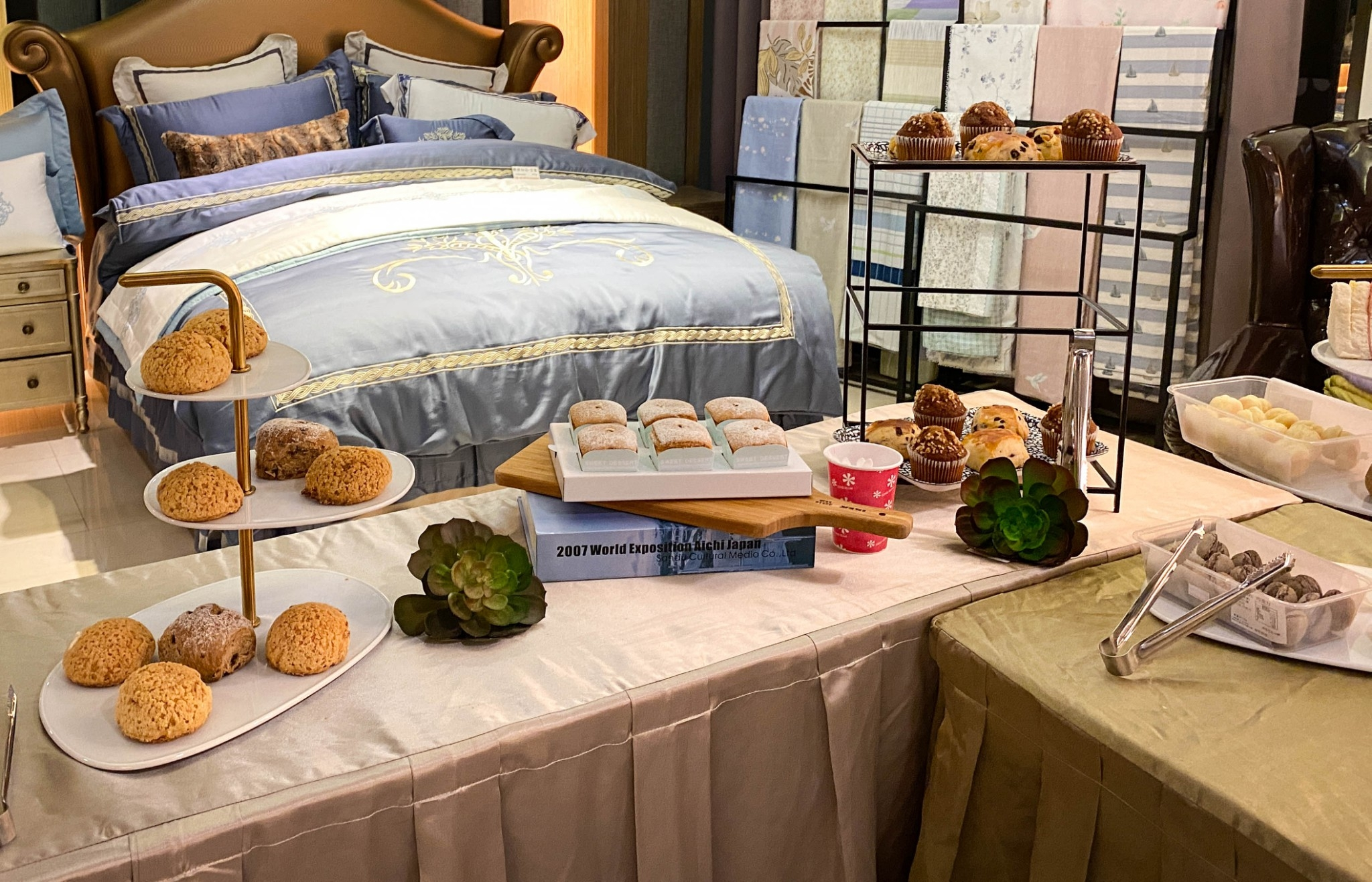 上品寢具VIP慶生& 芳療SPA天后葉朱鶯老師「好味道睡神到」專題分享會 -